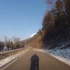 Radweg dem Rhein entang