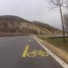 Radweg im Mettauertal