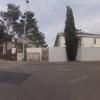 Radweg-Kreuzung in Lenzburg