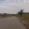 Abfahrt vom Rotberg nach Mandach