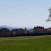 Blick an den Alpenkamm aus dem Reusstal