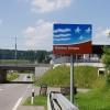 Kantonsgrenze bei Sins
