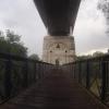 Fusssgängerbrücke und Radweg nach Brugg