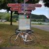 Radweg-Knotenpunkt