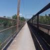 Eisenbahnbrücke am Wasserschloss