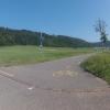 Beginn Radweg in Riniken