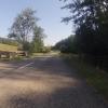 Abfahrt vom Rotberg nach Leuggern