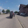 Umgebauter Aebi-Traktor