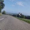 Passhöhe Rotberg, mit Sicht in Richtung Aaretal