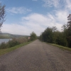 Auf dem Damm des Aarekanals