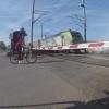 Bahnübergang bei Dottikon