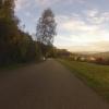 Herbstlicher Ausblick nach Deutschland oberhalb Rietheim
