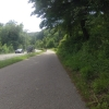 Auf dem ehemaligen Bahntrasse nach Sarmenstorf hinauf