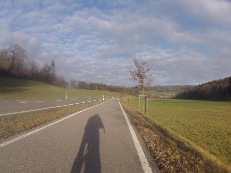 Radweg von Unterehrendingen nach Niederweningen