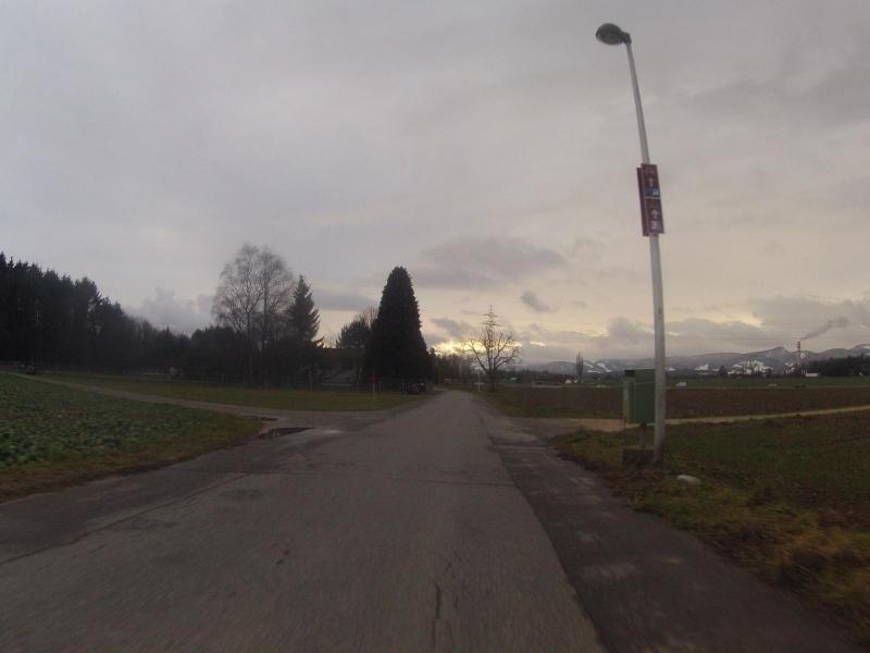 Radweg zwischen Hunzenschwil und Suhr