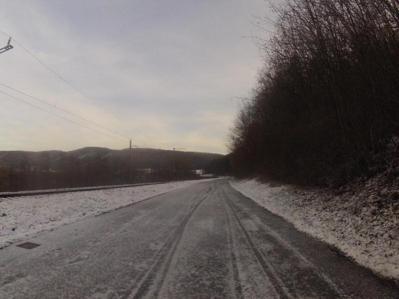 Radweg im Rheintal