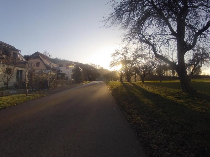 Radweg zwischen Wohlenschwil und Mägenwil