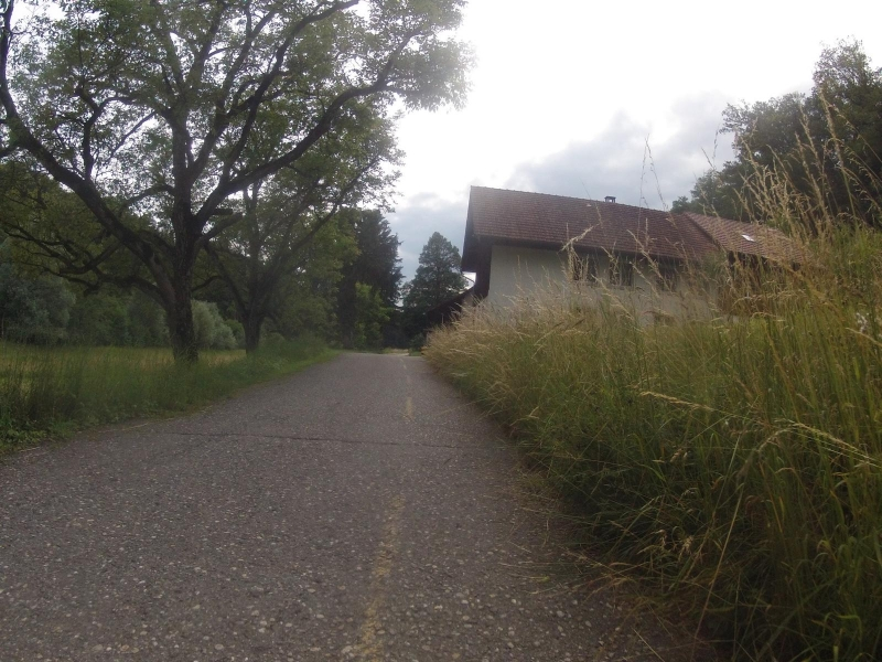 Radweg im Bünztal