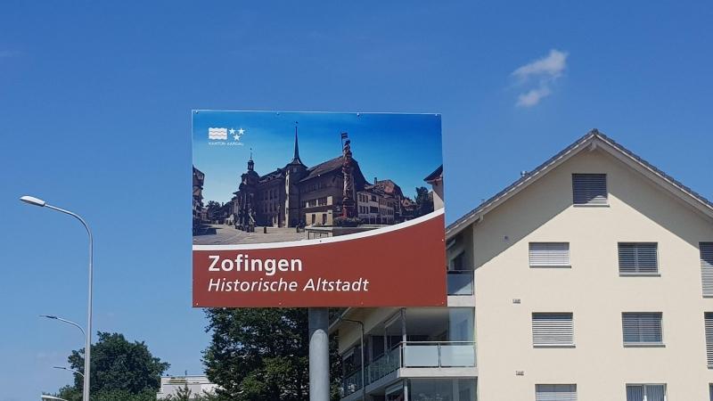 Stadteingang von Zofingen