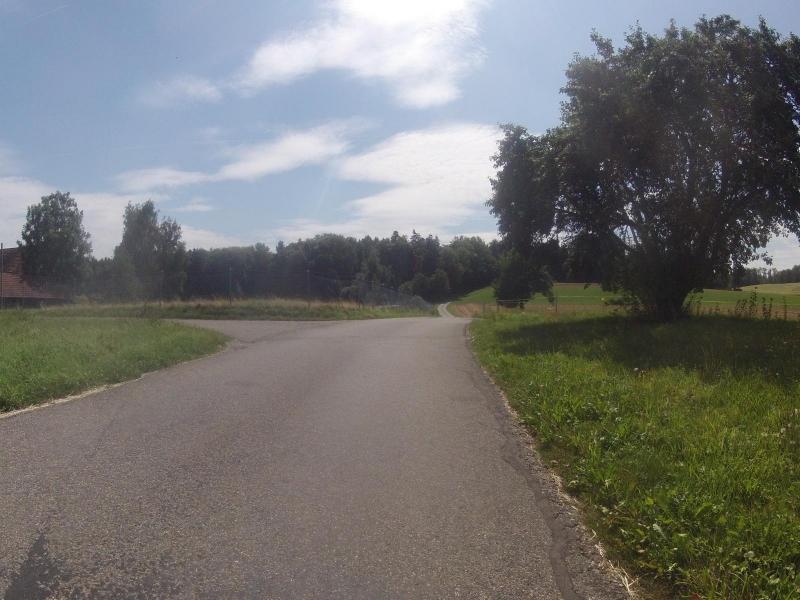 Radweg zwischen Niederwil im Reusstal und Wohlen im Bünztal