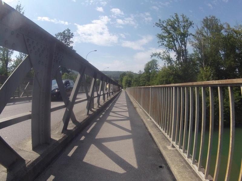 Brücke über die Aare bei Wildegg