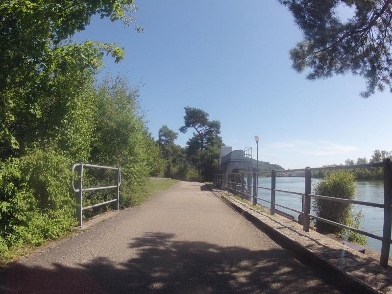Radweg zwischen Brugg und Schinznach-Bad