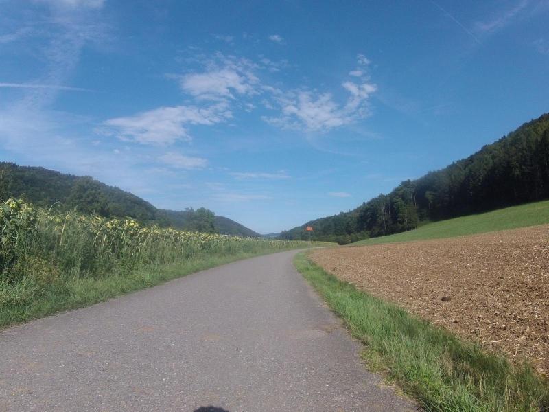 Radweg von Mönthal nach Remigen