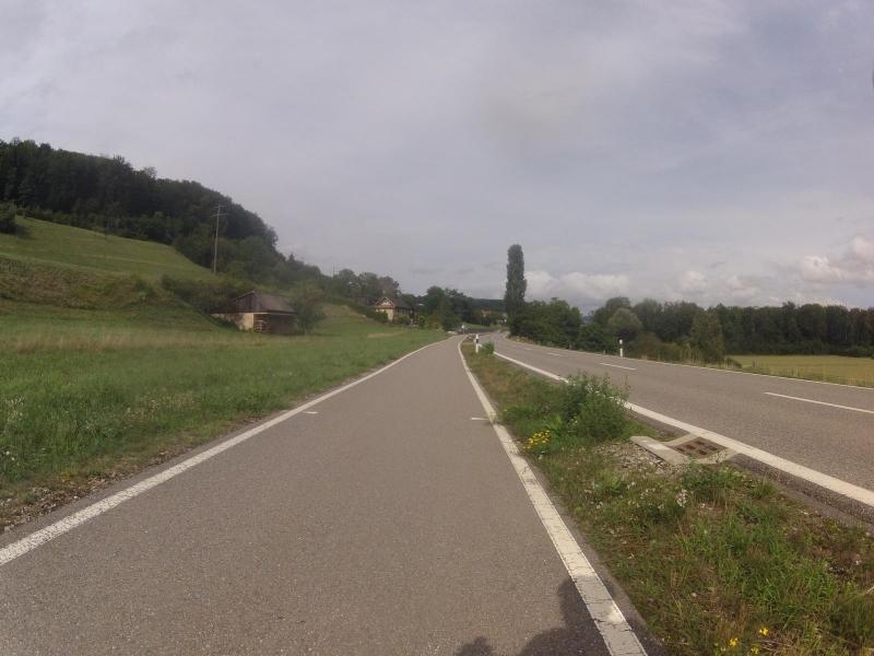 Radweg zwischen Villnachern und Umiken