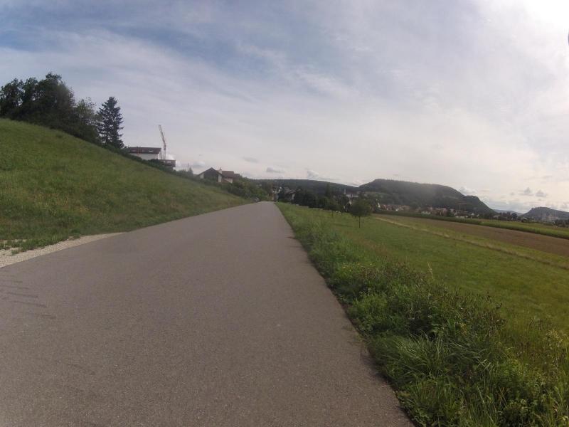 Radweg von Döttingen nach Würenlingen