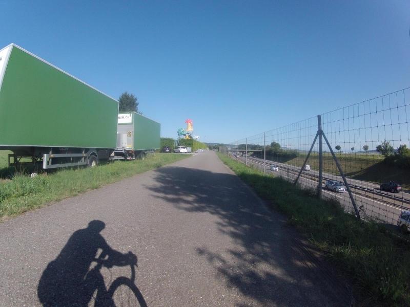 Radweg von Hausen ins Birrfeld
