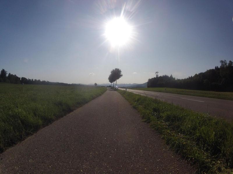 Radweg von Brunegg nach Möriken
