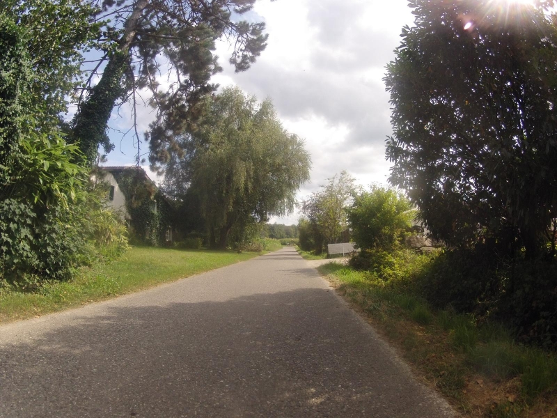Radweg nach Seon