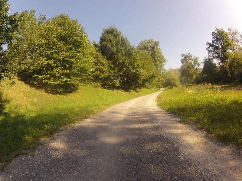 Radweg von Brugg nach Lauffohr