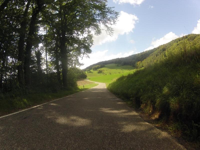 von Auenstein nach Biberstein, oben durch