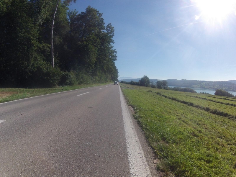 dem Hallwilersee entlang (nach Süden)