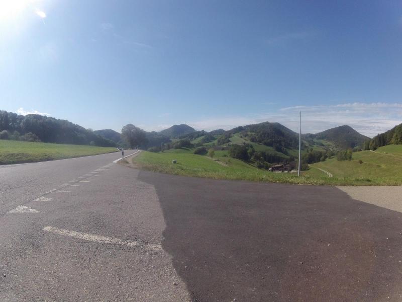 Staffelegg, Passhöhe