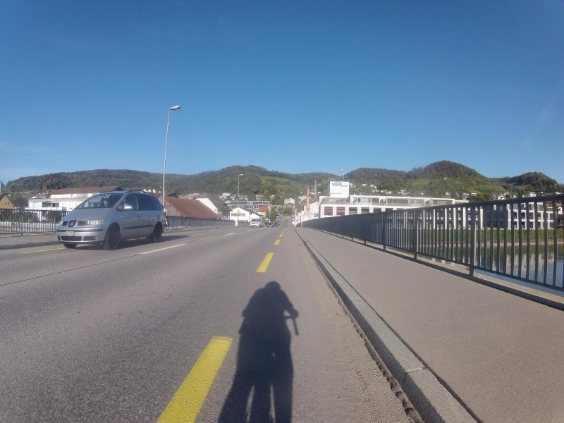 Aarebrücke bei Döttingen