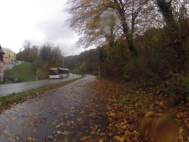 Ehemaliges Bahntrassee in Villmergen