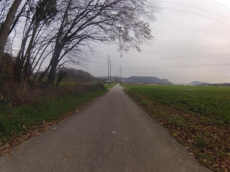 Radweg nach Würenlingen