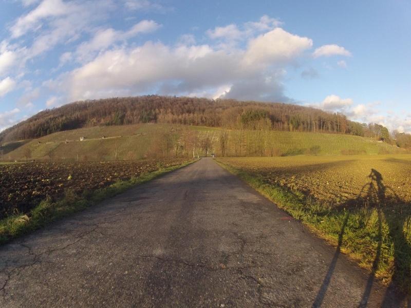 Radweg von Rüfenach nach Remigen