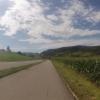 Radweg zwischen Villnachern und Oberflachs