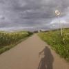 Radweg von Leibstadt nach Leuggern
