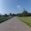 Radweg im Birrfeld von Lupfig nach Scherz