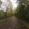 Radweg entlang dem Klingnauer Stausee
