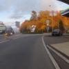 Zeltli-Kreisel vor herbstlichem Wald in Othmarsingen