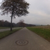 Radweg nach Mellingen