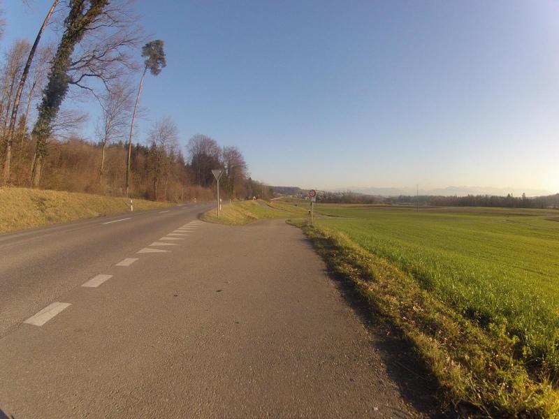 Unterwegs im Reustal, zwischen Zufikon und Unterlunkhofen