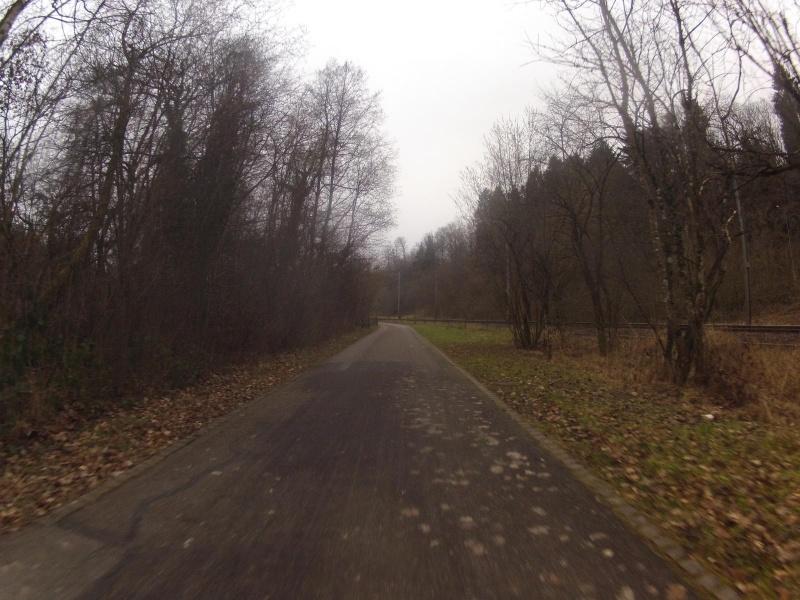 Radweg von Baden nach Dättwil