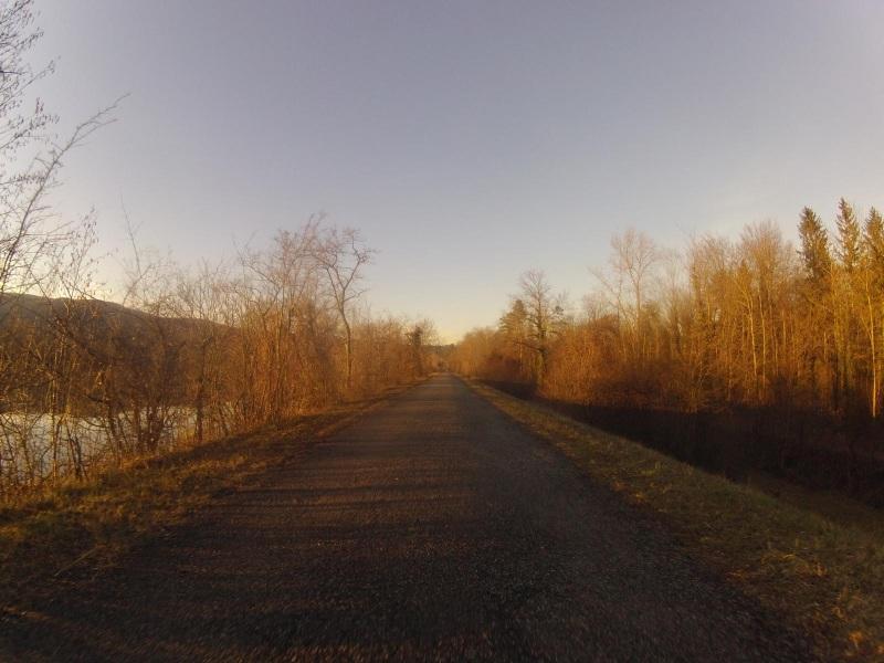 Der Aare entlang bei Schinznach-Bad