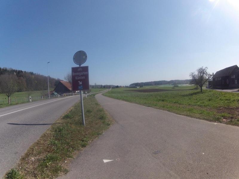 Radweg bei Busslingen